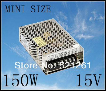 DIANQI power supply 15v 150w 15V 10A power suply 150W mini size  led power supply unit  ac dc converter ms-150-15 low price high power ac dc converter drp 480 15 480w 32a 15v switching power suply for industrial