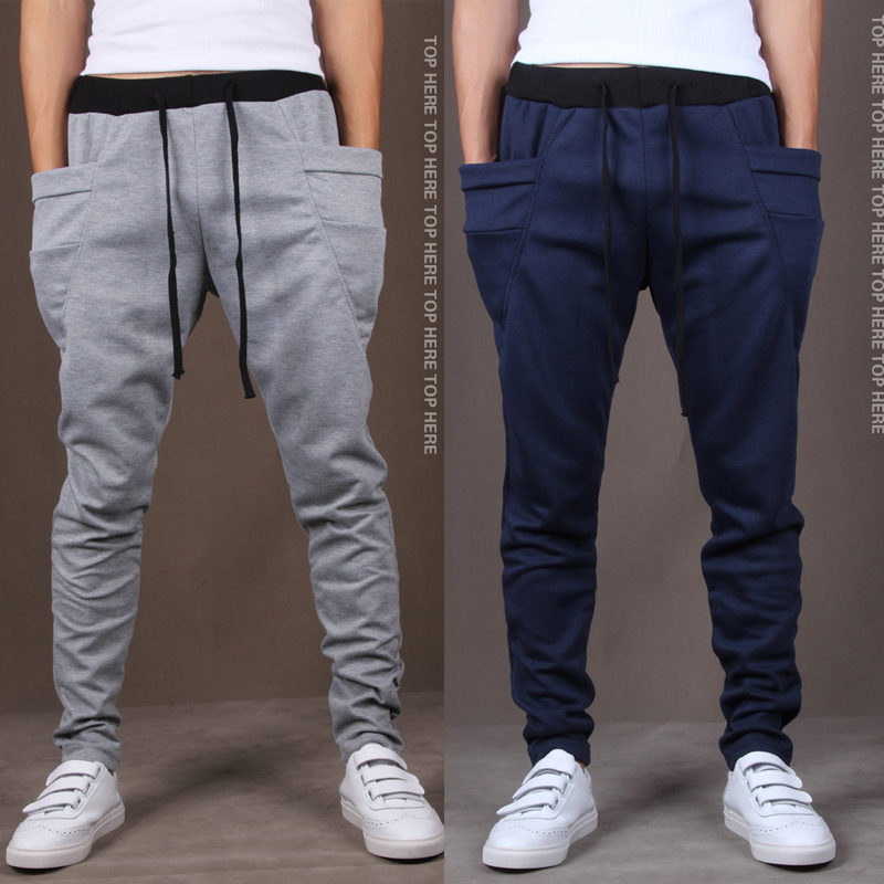 Tapered leg style with elastic ankle cuffs. Easy to wear the jogger pant on Easy to wear the jogger pant on Yong Horse Men's Lightweight Joggers Pants Zipper .