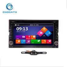 ChoGath(TM) Universal GPS Navigation HD Double 2DIN Car Stereo DVD Player Bluetooth iPod MP3 +Camera
