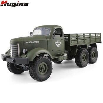 RC Monster camión de Control remoto vehículos militares todoterreno Guerrero 6X6 táctico 2,4G oruga de roca electrónica juguetes para niños de regalo