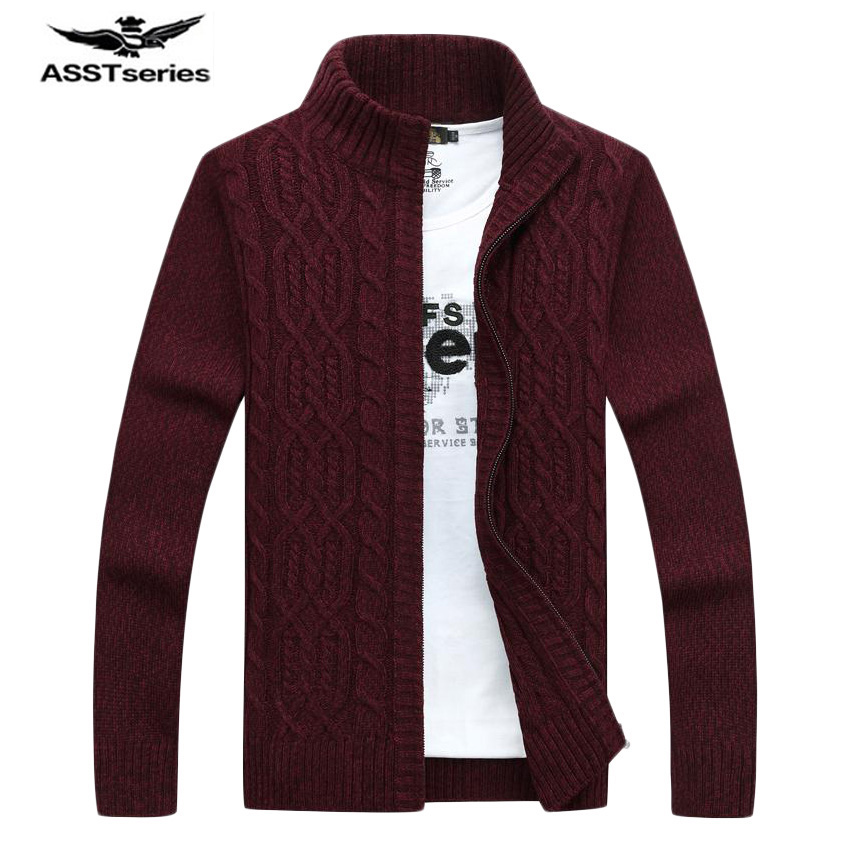 Free shipping Men Thick Winter Sweaters 2017 New Designer Brand Snow Warm Fashion Long Sleeve Knitwear Cardigans Sweaters 88hfx