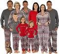 Mulheres Homens Adulto Da Família Pijama Definir Veados Pijamas dormir Presente Mulheres Imprimir Roupas Cacual