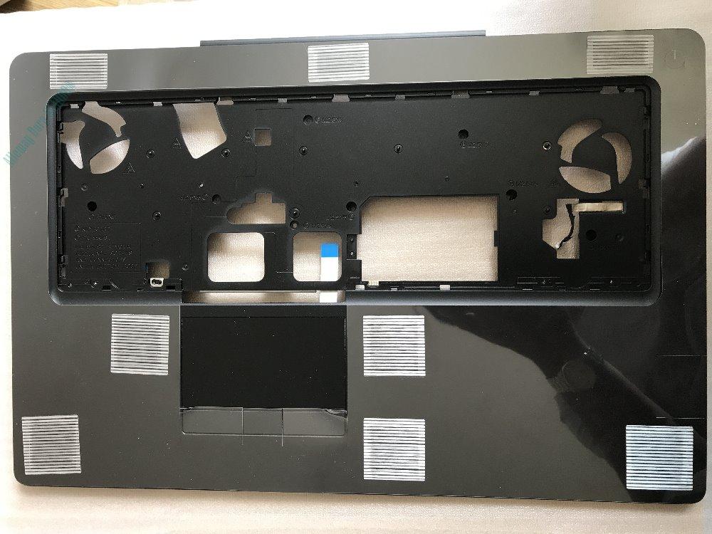 Genuine HP EliteBook 8560W Palmrest Touchpad w// Power Button 652652-001
