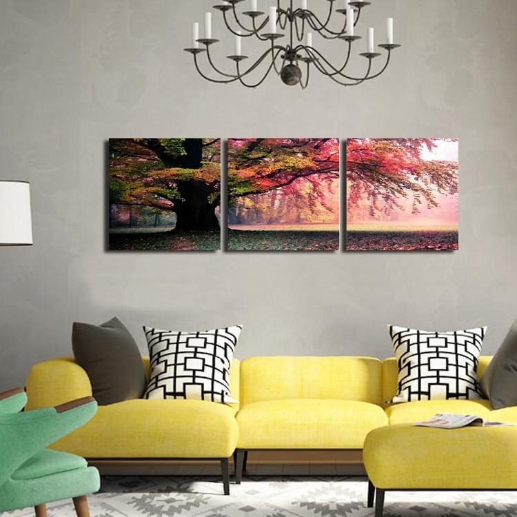 Zeer Stunning Schilderijen Woonkamer Ideas - House Design Ideas 2018  KS75