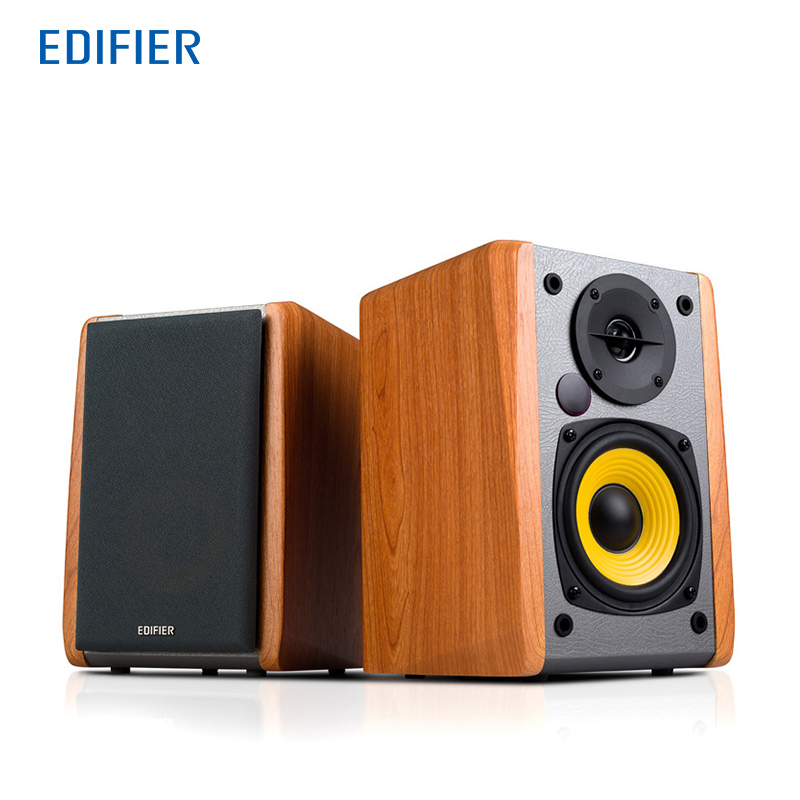 Edifier R1010BT Portable Bluetooth Speaker for Computer Play Music Bluetooth Speakers for TV Home Theatre System Wood Wireless цена
