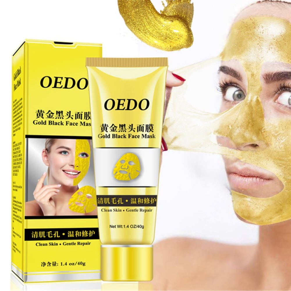 Golden Color Facial Mask Rejuvenating Anti-Aging Face Mask For Skin Reduces Fine Lines Clears Acne Minimizes Pores Facial mask
