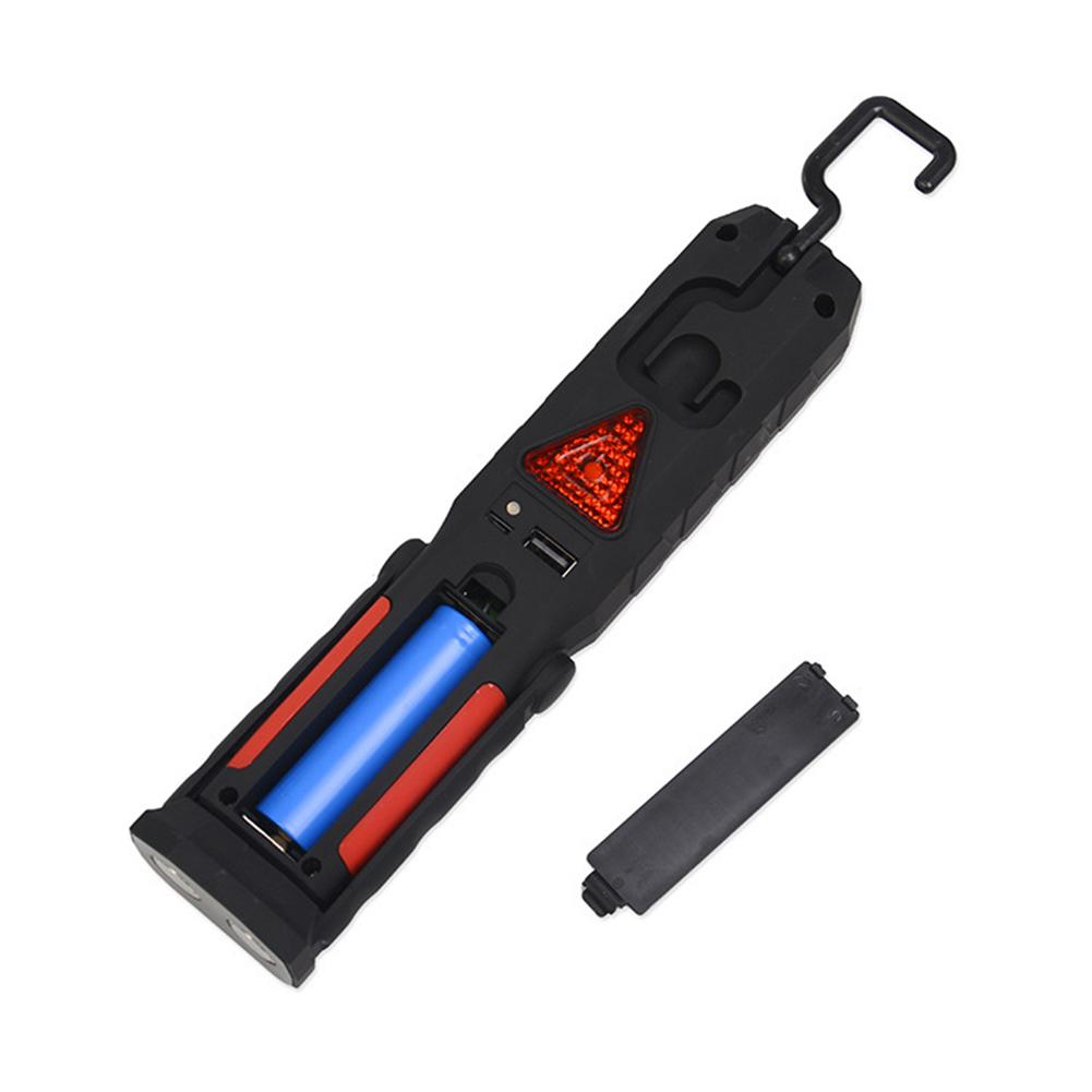 Car repair led work light USB Rechargeable Flashlight Magnetic Emergency Led Torch Flash Light Portable Lamp for Car Auto Repair anjoet led work light magnetic emergency torch flash hanging lamp usb rechargeable flashlights built in 18650 for auto repair