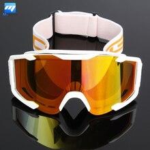 Accesorios de la motocicleta Motocross Gafas Gafas de Color Al Aire Libre A Prueba de Viento Gafas