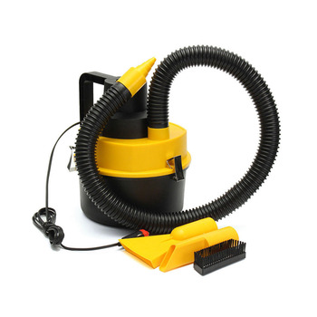 Portable 12V Wet Dry Vac Vacuum Cleaner Inflator Turbo Hand Held Fits For Car Or Shop NJ88
