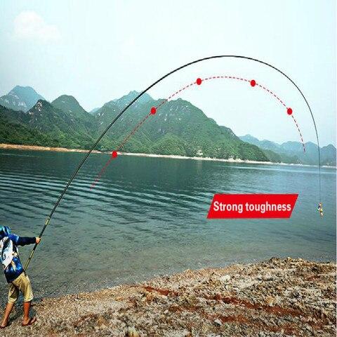 pesca telescopica vara de pesca vara de pesca ultra leve