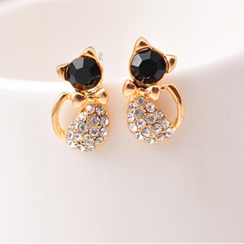 Pearl Geometry Stud Earrings 8