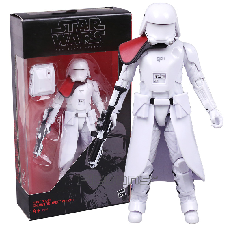 Star Wars The Black Series Snowtrooper PVC Action Figure Collectible Model Toy 15cm star wars taiko yaku stormtrooper 1 8 scale painted variant stormtrooper pvc action figure collectible model toy 17cm kt3256