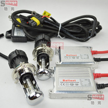 1 set Universal hid kit bi xenon h4,H13,9004,9007 hi lo beam AC 35W h4-3 ,h13-3,9004-3,9007-3 ,bombillas h4 xenon kit for car