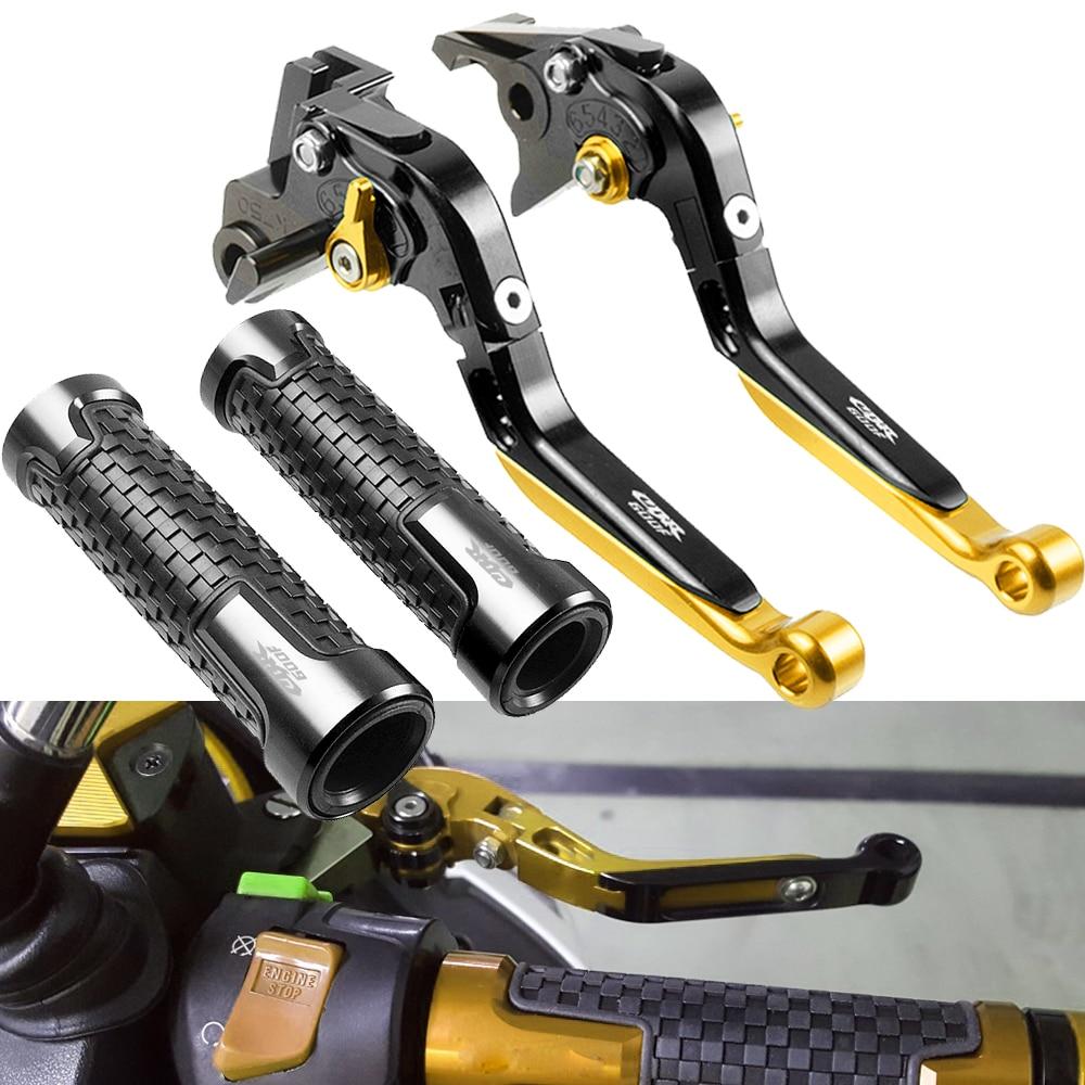 Pour Honda CBR600F CBR 600 F CBR 600F 2011-2013 moto réglable pliable extension frein levier d'embrayage poignée poignées