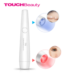 TOUCHBeauty 2-in-1 Red and Blue Light Therapy Acne Laser Pen Soft Scar Wrinkle Removal Treatment Device TB-1693