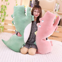 Crocodile Plush Toy Soft Down Cotton Stuffed Doll Crocodile Animal Long Pillow Crocodile Toy Gift For Girls Kids Christmas Gift