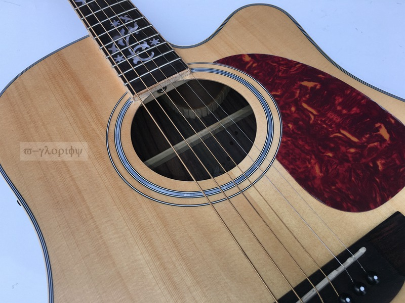 solid spruce top acoustic guitar with electric tuner free shipping free hardcase with nature sj200 electric acoustic guitar with pickup eq hot sell da003a solid spruce body and maple top back