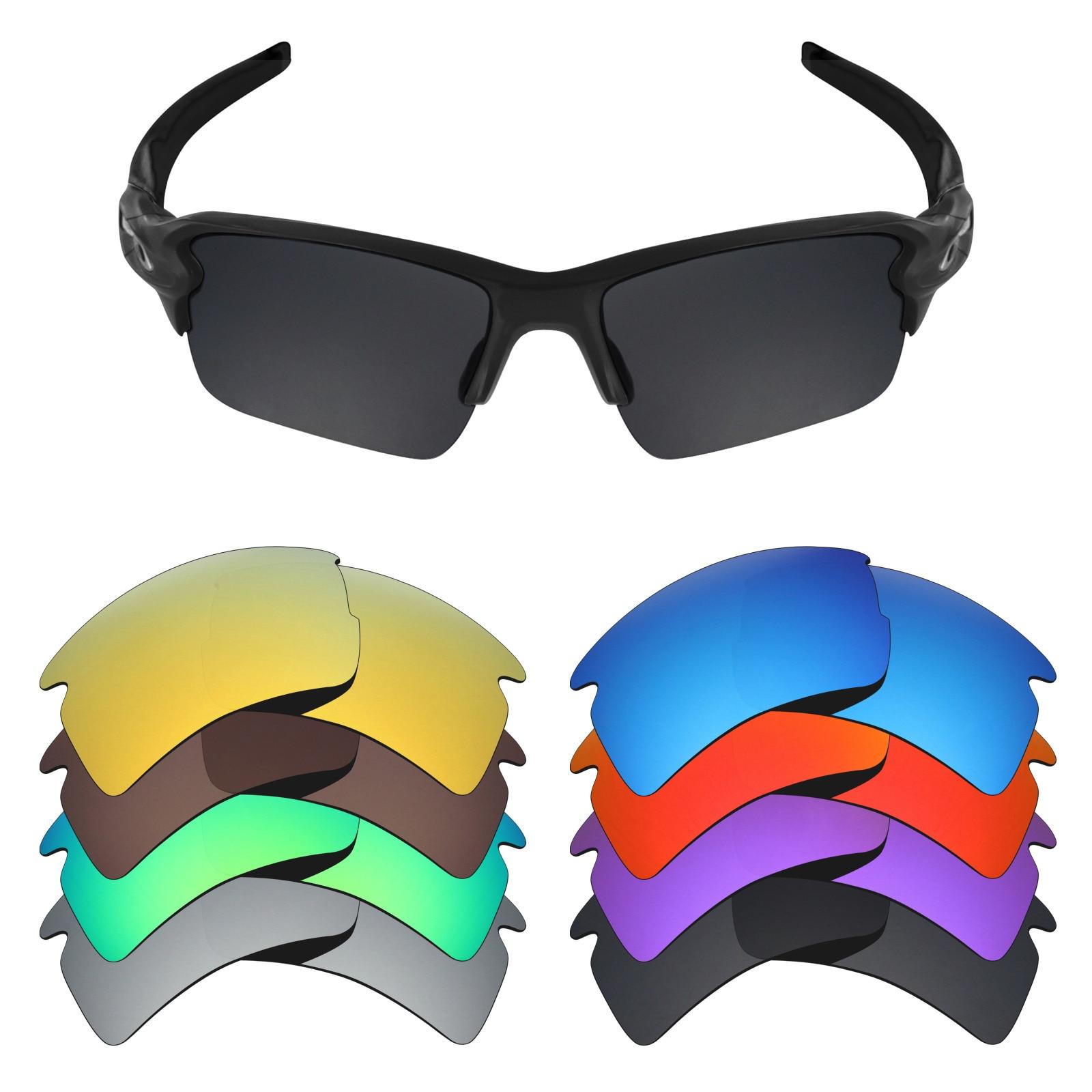 fddfa4780d3b8 Mryok Polarizada Lentes de Reposição para Lentes De Óculos De Sol Oakley  2.0 XL (Lente