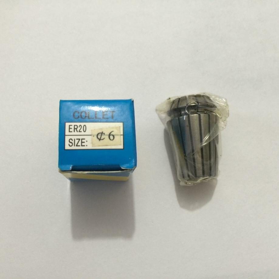 Er20 6mm primavera collet conjunto para cnc fresagem torno ferramenta máquina de gravura