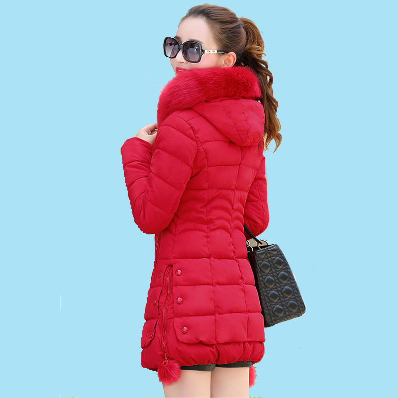 rouge Neige Chaud À gris pu Femme Capuche Femmes Rembourré Manteau Épaissir Noir Long Coton Ciel Hiver rose Outwear Veste Dames Décontractée Parka x1Cww4q