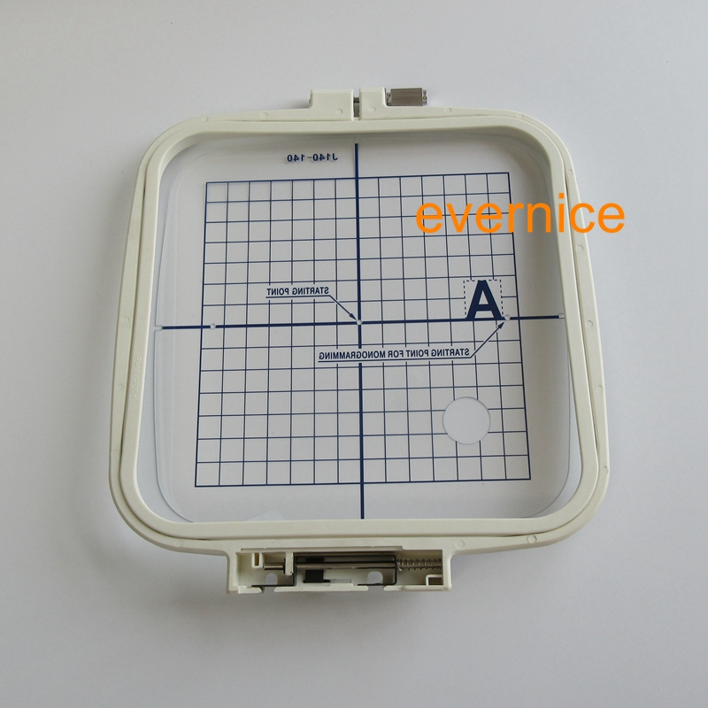 """Standard Large Embroidery Hoop 140mm x 140mm 5.5""""x 5.5""""  for Janome MC200E-in Sewing Tools & Accessory from Home & Garden    2"""