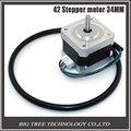 5 ШТ. Nema17 Шагового Двигателя 42 двигатель С ЧПУ шагового Длина Кабеля двигателя 33 мм шаговый двигатель/1.33A для 3d-принтер для ЧПУ XYZ