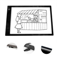 New A4 LED Tracing Light Box Portable Drawing Light Pad For Sketching Animation Stenciling X Ray