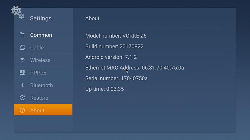 In Stock! VORKE Z6 KODI 17.3 Android 7.1.2 Smart TV BOX VORKE Z6 KODI 17.3 Android 7.1.2 Smart TV BOX HTB1ULRVk3oQMeJjy0Fpq6ATxpXaw