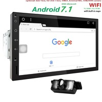 Quad Core Pure Android 7 1 Auto Radio Car NO DVD Player Car PC Tablet Double