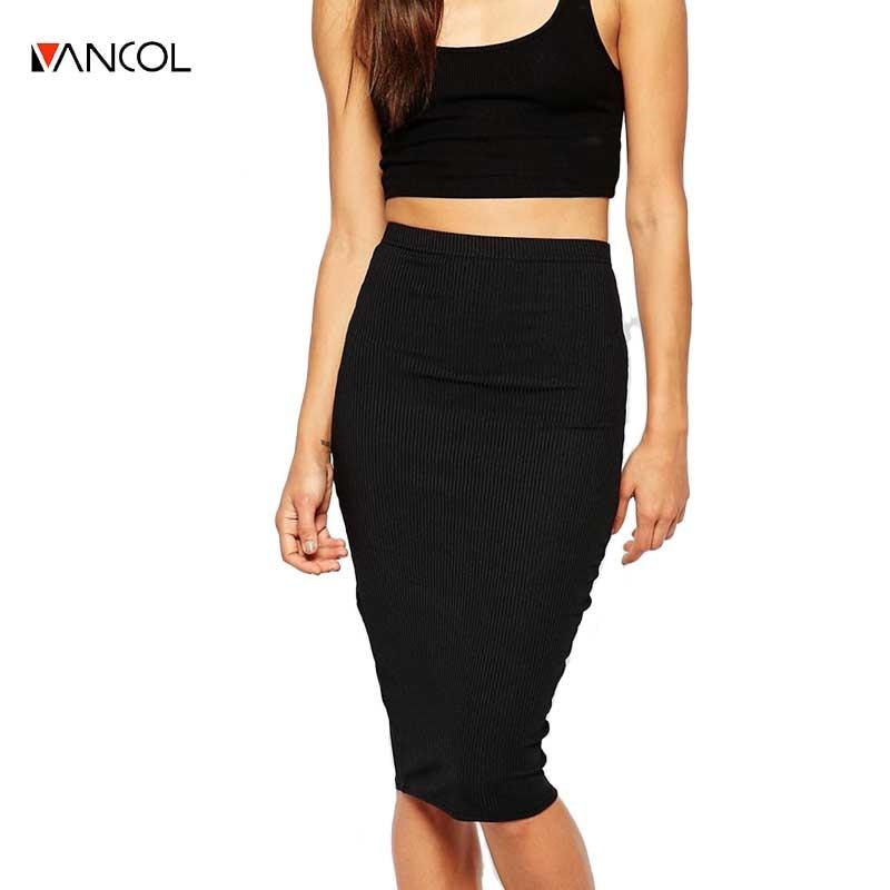 Popular Long Black Knit Skirt-Buy Cheap Long Black Knit Skirt lots ...