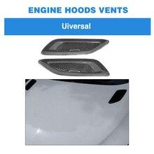 Универсальный капот из углеродного волокна вентиляционные отверстия для BMW F80 F82 F83 E46 E90 для Audi S3 S4 S5 Sline Benz аксессуары