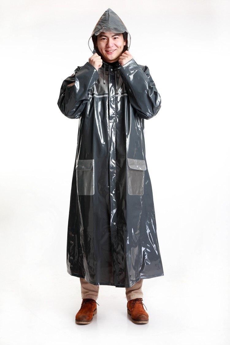 New Men Women Cheap Raincoat Rain Wear Thick Long Big