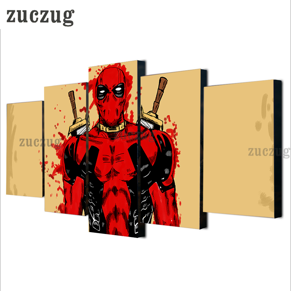Marvel Comics Art Poster Modern Canvas Print for Home Decoration 5 ...