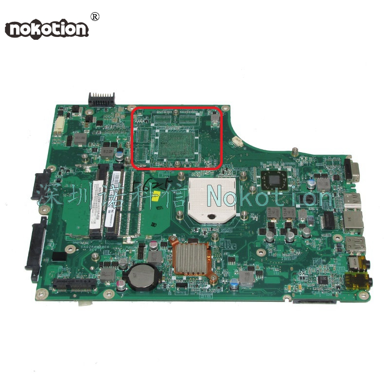 NOKOTION MBPV606001 MB.PV606.001 laptop motherboard for acer aspire 5553 5553G DA0ZR8MB8E0 Main board full works цена