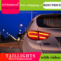 4PCS Car Styling for Hyundai ix35 Taillights 2013 2016 for ix35 LED Tail Lamp+Turn Signal+Brake+Reverse LED light