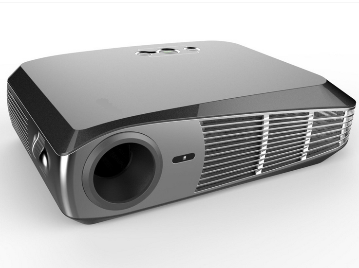 Portable short throw smart home theater mini4k led video for Best small hd projector