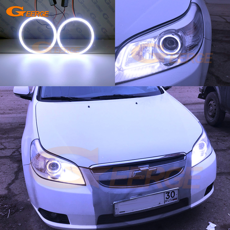 For Chevrolet Epica 2007 2008 2009 2010 2011 2012 2013 Excellent angel eyes Ultra bright illumination COB led angel eyes kit for mazda 3 mazda3 bl sp25 mps 2009 2010 2011 2012 2013 excellent ultra bright illumination ccfl angel eyes kit