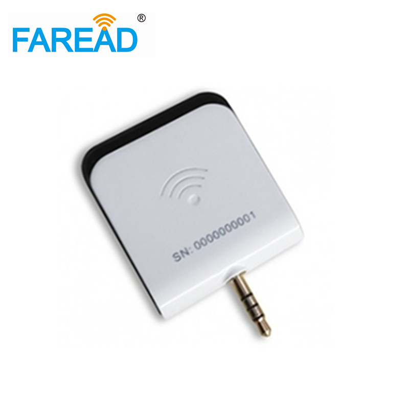 AUDIO JACK UHF RFID PORTABLE READER FOR ANDROID AND IOS Free Shipping