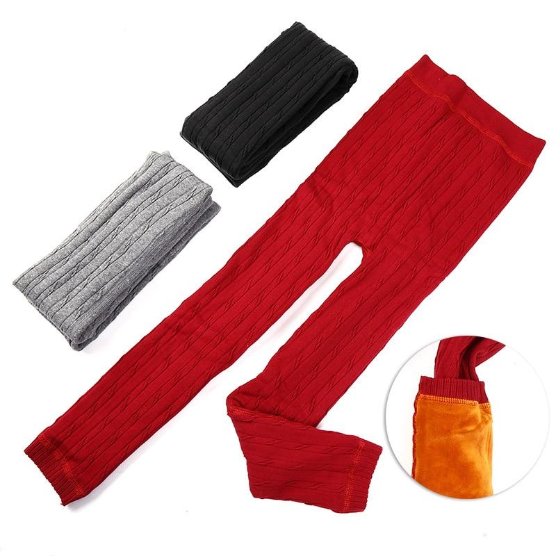 High quality Winter Autumn Thick Warm Girls Leggings kids Pants Children Clothing childrens Pants fz103