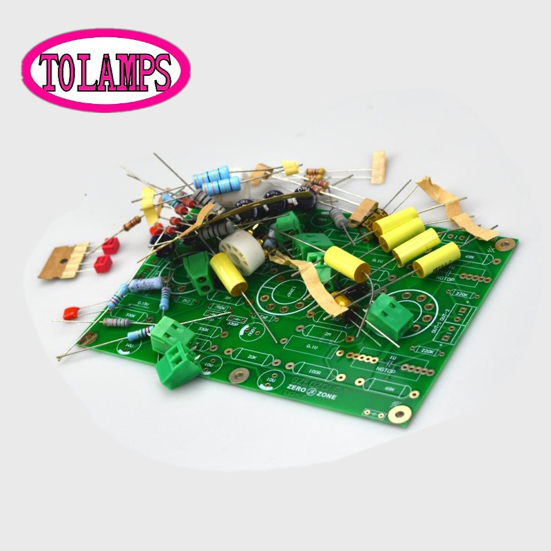 free shipping! DIY E834 RIAA MM Tube Phono Stage Amplifier Kit Base On EAR834 Circuit    Without Tube