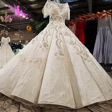 AIJINGYU Vintage Boho Wedding Dress Lace Gowns Garden Frocks 2021 2020 Unique Retro Gown Ball Wedding Dresses Online Shop