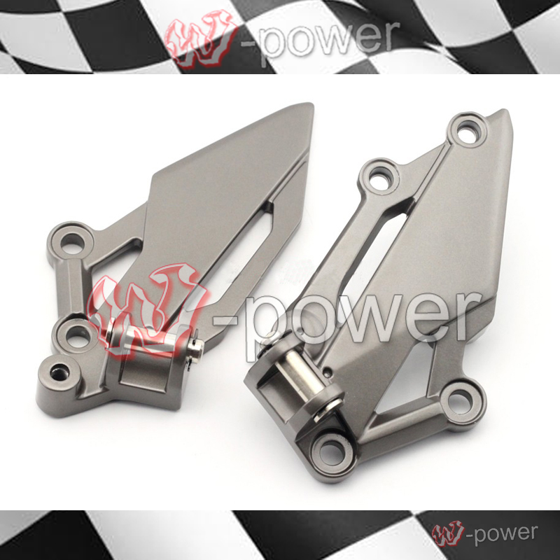 fite For KAWASAKI EX250R EX300 NINJA 250 300 Z250 Z300 Motorcycle Front Left Right Footrest Pedal