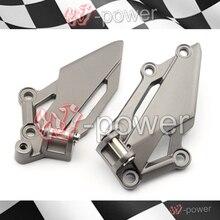 Fite per kawasaki ex250r/ex300 ninja 250/300 z250 z300 moto anteriore sinistra destra poggiapiedi pedale peg mount