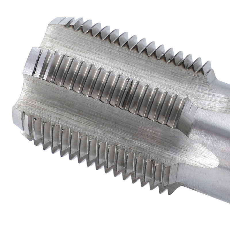 ท่อด้ายก๊อก G1/8-G1 นิ้วสกรู HSS 55 องศาท่อเครื่องมือ
