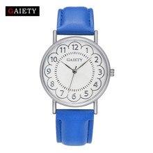 Ladies Flower Watch Ladies Trend Leather-based Band Analog Girls 2017 Clock Quartz Watch Wrist Relogio Feminino Montre clock hours