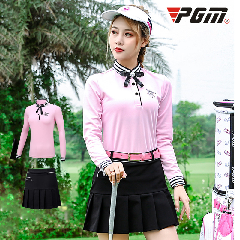 Golf dress ladies suit autumn winter clothing long sleeved T-shirt sportswear GolfGolf dress ladies suit autumn winter clothing long sleeved T-shirt sportswear Golf