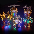 Bar table lamp LED crown head of the charging table light lamp entertaining diversions champagne wine cover cap