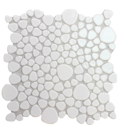 Pebble Ceramic Floor Mosaic Tile Living Room Wall Bathroom Kitchen Backsplash