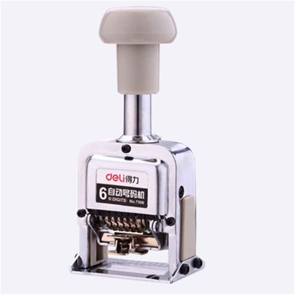 Number Machine 6 position automatic numbering machine into the number coding Page Chapter marking machine digital stamp number machine 7 position automatic numbering machine into the number coding page chapter marking machine digital stamp