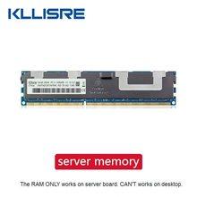 Memória do servidor 1333 1600 1866mhz dimm rgb ram suporta x79 lga 2011 placa-mãe kllisre ddr3 4gb 8gb 16gb 32gb rgb ecc reg